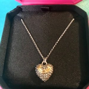 """Juicy Couture 18"""" authentic necklace"""